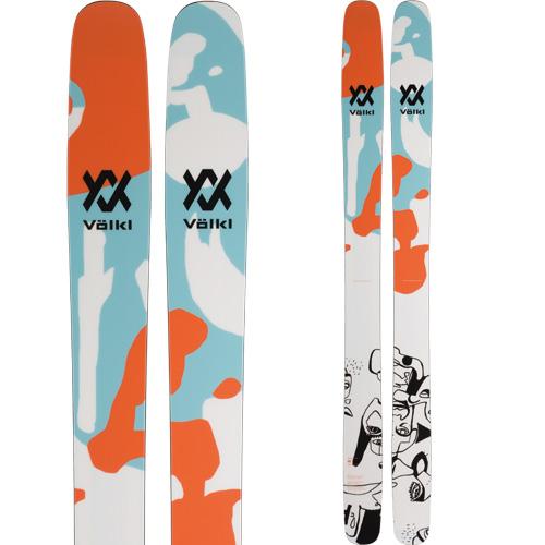 VOLKL フォルクル 19-20 スキー 2020 REVOLT 121 レボルト 121 (板のみ) スキー板 パウダー ロッカー (onecolor):