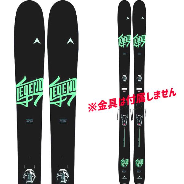 DYNASTAR ディナスター 19-20 スキー 2020 LEGEND W88 レジェンド W88 (板のみ) スキー板 オールマウンテン レディース: