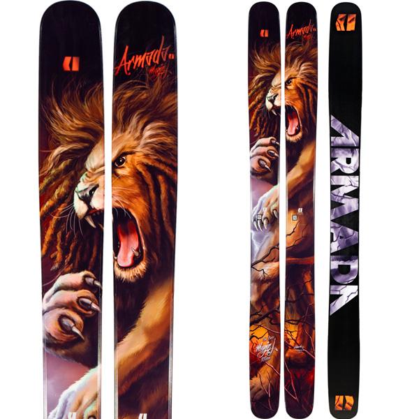 ARMADA アルマダ 19-20 スキー 2020 MAGIC J マジックジェイ (板のみ) スキー板 パウダー ロッカー: