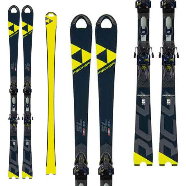 FISCHER フィッシャー 19-20 スキー 2020 RC4 WC SL CURV BOOSTER (金具付き) スキー板 SL レーシング: