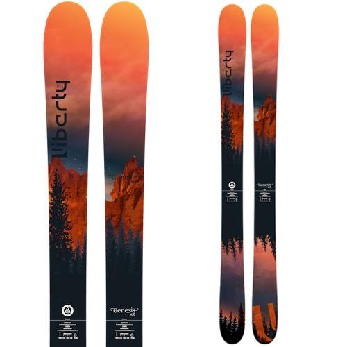 Libarty リバティ 19-20 スキー 2020 GENESIS 106 ジェネシス 106 (板のみ) スキー板 パウダー ロッカー: