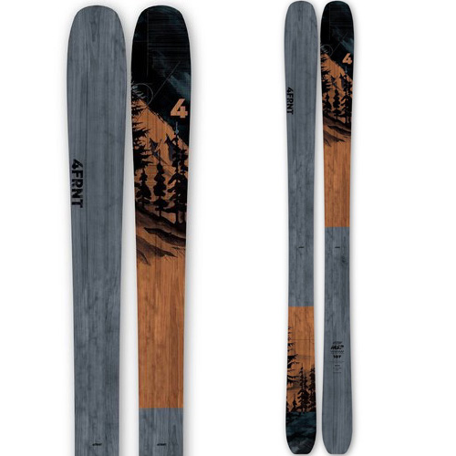 4FRNT フォーフロント 19-20 スキー 2020 MSP 107 (板のみ) スキー板 パウダー ロッカー: