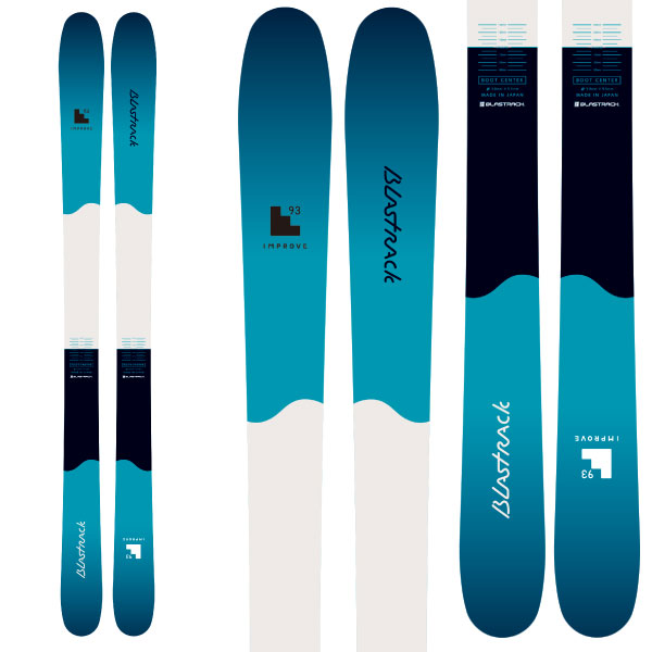 BLASTRACK ブラストラック 19-20 スキー 2020 INPROVE 93 インプルーブ 93 (板のみ) スキー板 オールマウンテン: