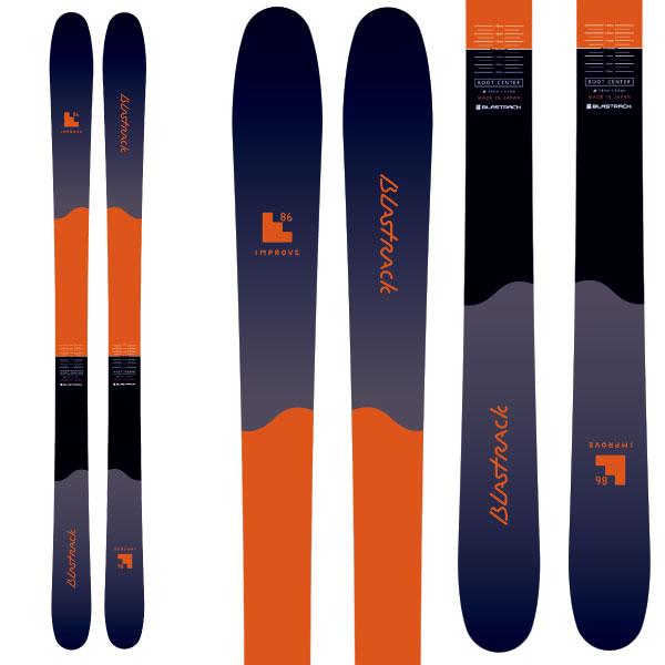 BLASTRACK ブラストラック 19-20 スキー 2020 INPROVE 86 インプルーブ 86 (板のみ) スキー板 オールマウンテン: