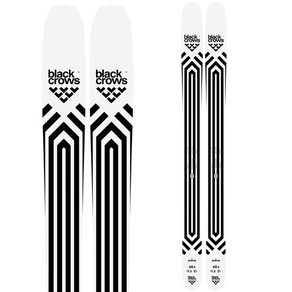 BLACKCROWS ブラッククロウズ 19-20 スキー 2020 ANIMA アニマ (板のみ) スキー板 パウダー ロッカー: