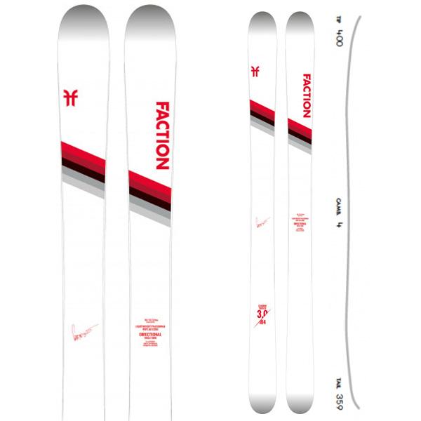 FACTION ファクション 19-20 スキー 2020 CANDIDE 3.0 キャンディド 3.0 (板のみ) スキー板 パウダー ロッカー: