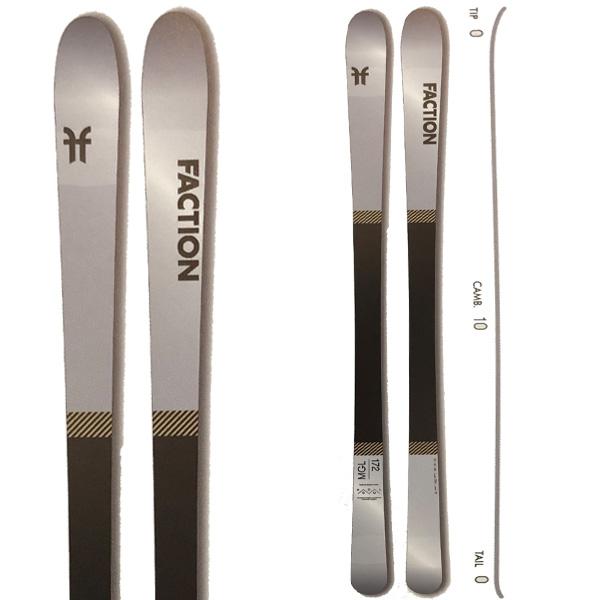 FACTION ファクション 19-20 スキー 2020 THE MOGUL SKI (板のみ) スキー板 モーグル フリースタイル: