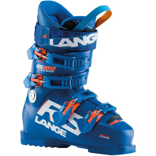 LANGE ラング 19-20 スキーブーツ 2020 RS100 SC WIDE ショートカフ ワイド 基礎 初級 中級 幅広:LBI1500-285