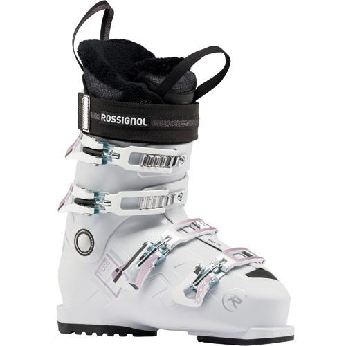 ROSSIGNOL ロシニョール 19-20 スキーブーツ 2020 PURE COMFORT 60 WHT/GY レディース エントリー 初中級 (WHITE-GREY):