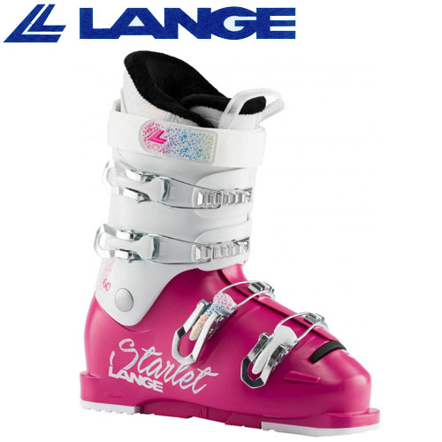 履きやすく軽量なジュニアスキーブーツ 直営店 LANGE ラング 19-20 スキーブーツ 2020 定価の67%OFF STARLET ポイント10倍2月23日20:00から2月26日10:00まで 60 SKIBOOTS ジュニア MAGENTA スターレット