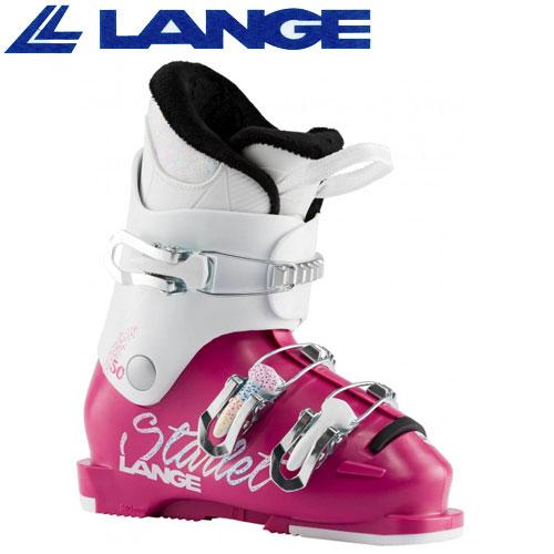 履きやすく軽量なジュニアスキーブーツ LANGE 国内在庫 お気にいる ラング 19-20 スキーブーツ 2020 50 ジュニア スターレット MAGENTA BOOTS STARLET