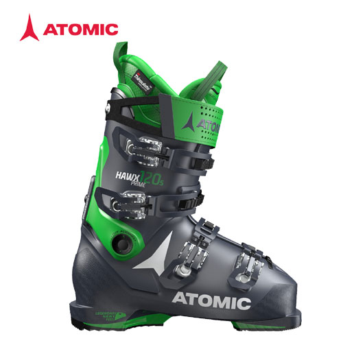 ATOMIC アトミック 19-20 スキーブーツ 2020 HAWX PRIME 120 S DARKBLUE/GREEN ホークスプライム オールマウンテン 軽量:AE5017960