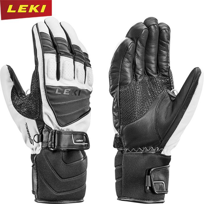 LEKI レキ GRIFFIN S スキー アルペン グローブ 手袋 (ホワイト-グレイ):636846305