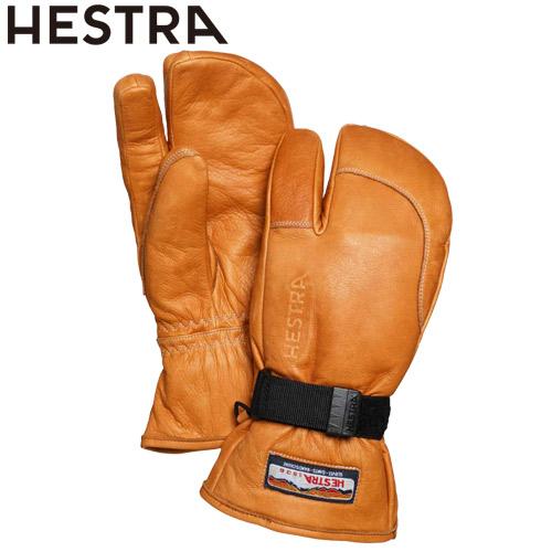 安心感の高いレギュラーカフモデル HESTRA ヘストラ 20-21 3-Finger Full Leather 直営限定アウトレット 安い 激安 プチプラ 高品質 710 Cork 2021 2月9日10時まで SKI_ACC フルレザー グローブ 3本指 スキー スノーボード 30872 クーポン利用で10%OFF