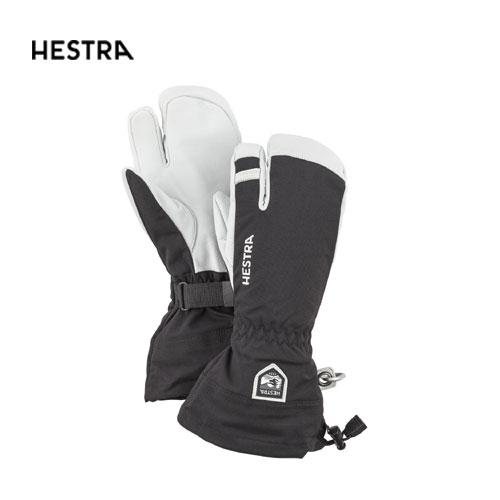 HESTRA ヘストラ 2020モデル Heli ski 3-Finger 30572 ヘリスキースリーフィンガー 100(Black) スキーグローブ オールマウンテン