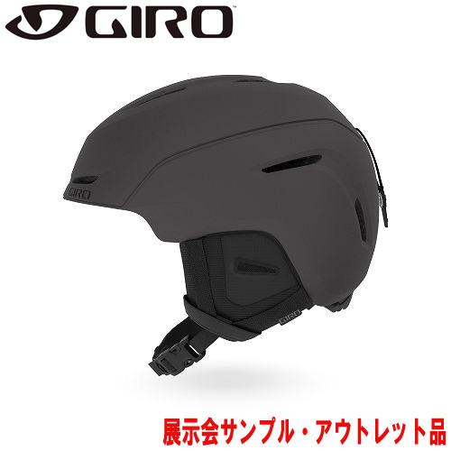 GIRO ジロー 19-20 ヘルメット (アウトレット) 2020 NEO Matte Graphite ネオ スキーヘルメット メンズ アジアンフィット: