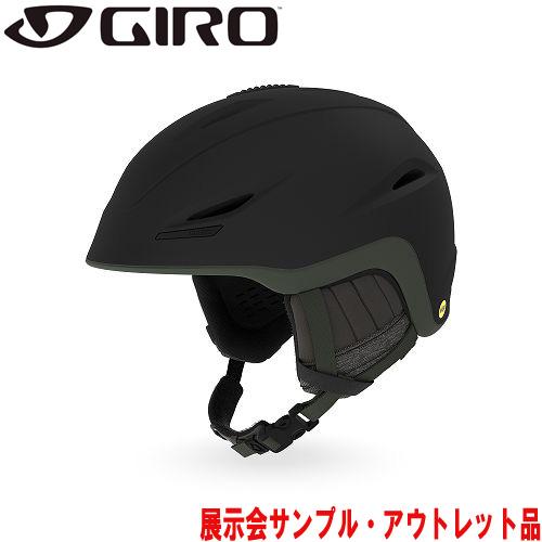 GIRO ジロー 19-20 ヘルメット (アウトレット) 2020 UNION MIPS Matte Warm Black/Citron ユニオンミップス メンズ アジアンフィット: