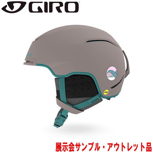 GIRO ジロー 19-20 ヘルメット (アウトレット) 2020 TERRA MIPS Matte Charcoal Hannah Eddy テラミップス スキーヘルメット レディース MIPS 軽量: