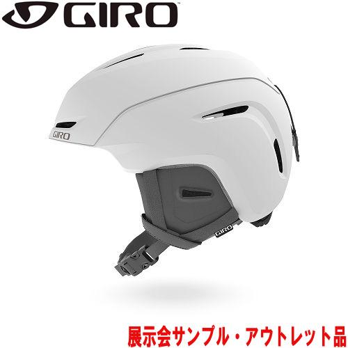 GIRO ジロー 19-20 ヘルメット (アウトレット) 2020 NEO JR Matte White ネオジュニア スキーヘルメット ジュニア アジアンフィット: