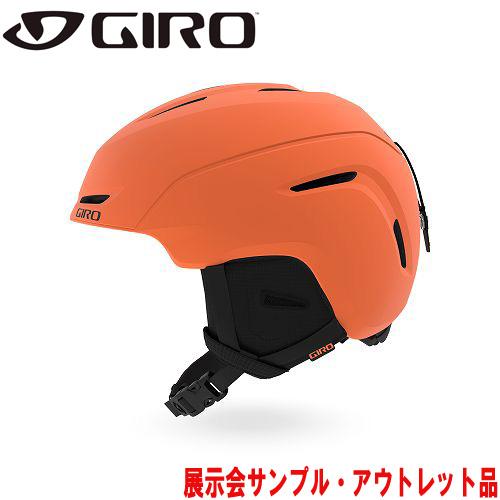 GIRO ジロー 19-20 ヘルメット (アウトレット) 2020 NEO JR Matte Deep Orange ネオジュニア スキーヘルメット ジュニア アジアンフィット:
