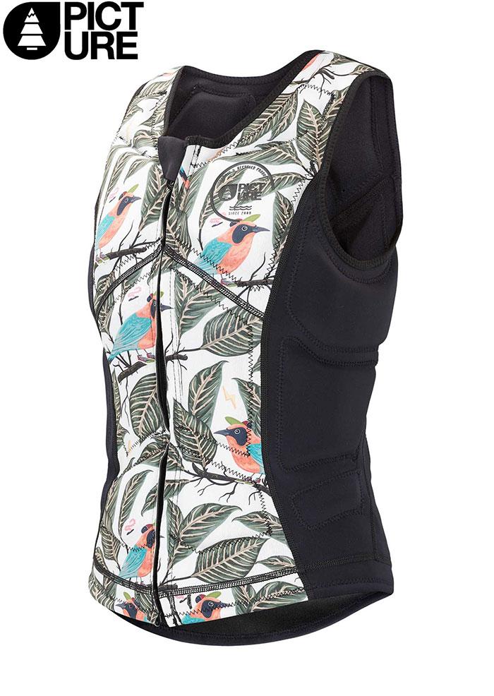 PICTURE ピクチャー AMITA IMPACT VEST ウエットスーツ WETSUIT SUP サーフィン (BlackSparrow):WVT145