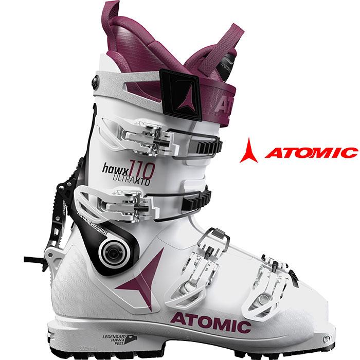 ATOMIC アトミック 18-19 スキーブーツHAWX ULTRA XTD 110W ホークス ウルトラXTD 110W 2019 ウォークモード付 ツアー バックカントリー 女性用 :ae5017560 「0604BOOT」