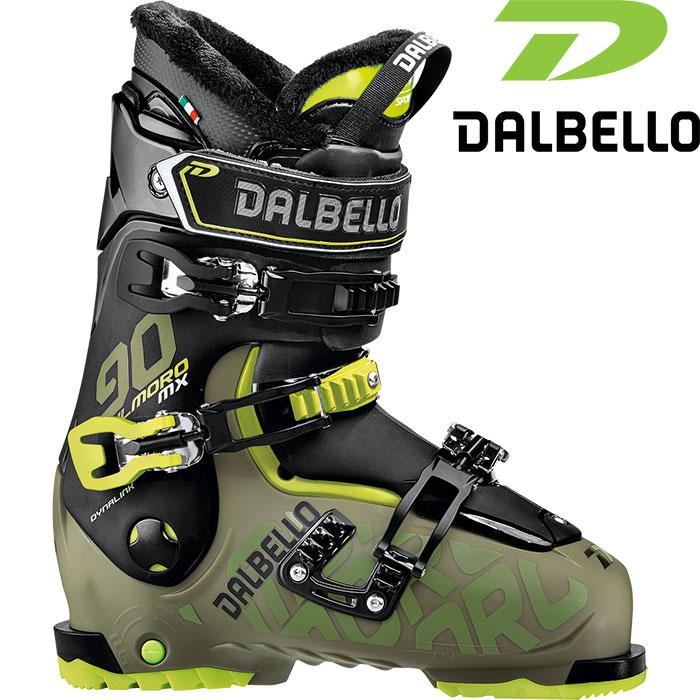DALBELLO ダルベロ 18-19 IL MORO MX 90 イルモロMX 90 〔2019 スキーブーツ フリースタイル 入門〕 (GR-BK):D181400300 「0604BOOT」