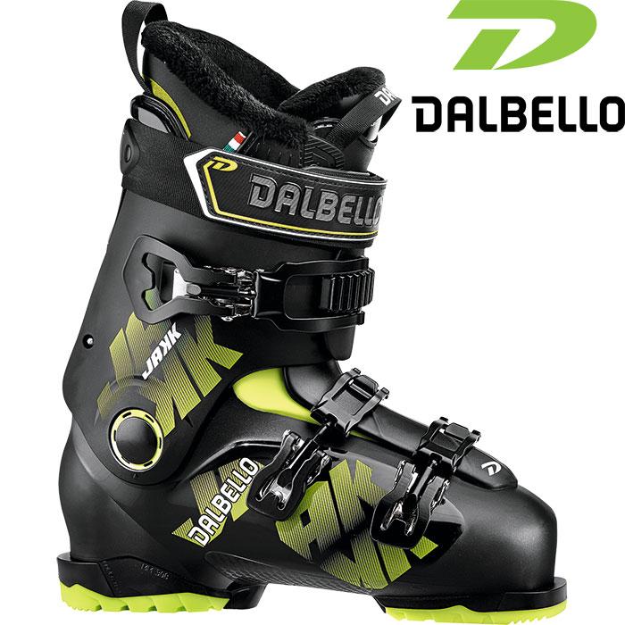 DALBELLO ダルベロ 18-19 JAKK ジャック 〔2019 スキーブーツ フリースタイル 入門〕 (BK-BK):D181400400 「0604BOOT」