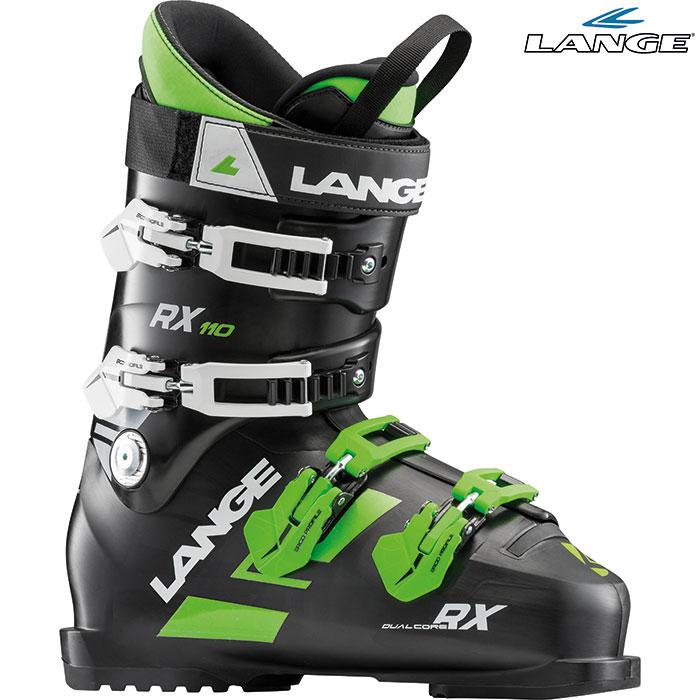 18-19 LANGE ラング RX 110 〔2019 スキーブーツ ALLMOUNTAIN〕 (Black-Green):LBH2080 「0604BOOT」