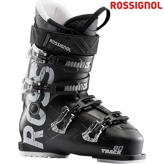 ROSSIGNOL ロシニョール 18-19 TRACK80 トラック80 〔2019 スキーブーツ ウォークモード付〕 (BK):RBH4070 「0604BOOT」