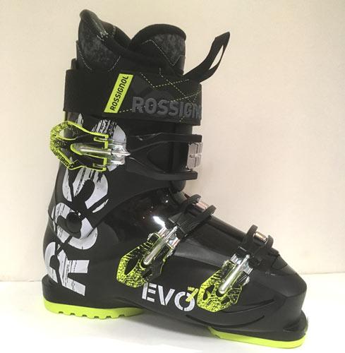 ROSSIGNOL ロシニョール 18-19 EVO70 エボ70 〔2019 スキーブーツ 初級 幅広〕 (BLACK-YELLOW):RBH8150 「0604BOOT」