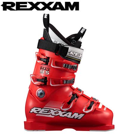REXXAM レクザム 17-18 スキーブーツ skiboot 2018 PowerMAX 95 パワーマックス95 (RED) 基礎 オールラウンド: 「0604BOOT」