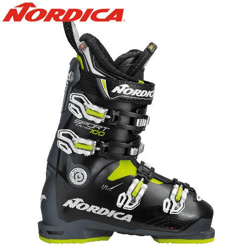NORDICA ノルディカ スキーブーツ 18-19 2019 SPORTMACHINE 100 スポーツマシン 100 基礎 レーシング: 「0604BOOT」