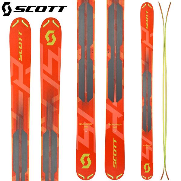 スコット SCOTT 18-19 スクラッパー 115 SCRAPPER 115 スキー パウダー バックカントリー 2019 :1102028 [34SSスキー]