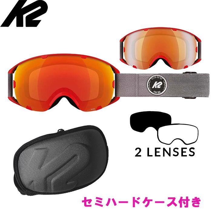 K2 ゴーグル SOURCE Z 〔特価 スキー スノーボード ゴーグル〕 (RD-SM):S1511001020 「0604gog」