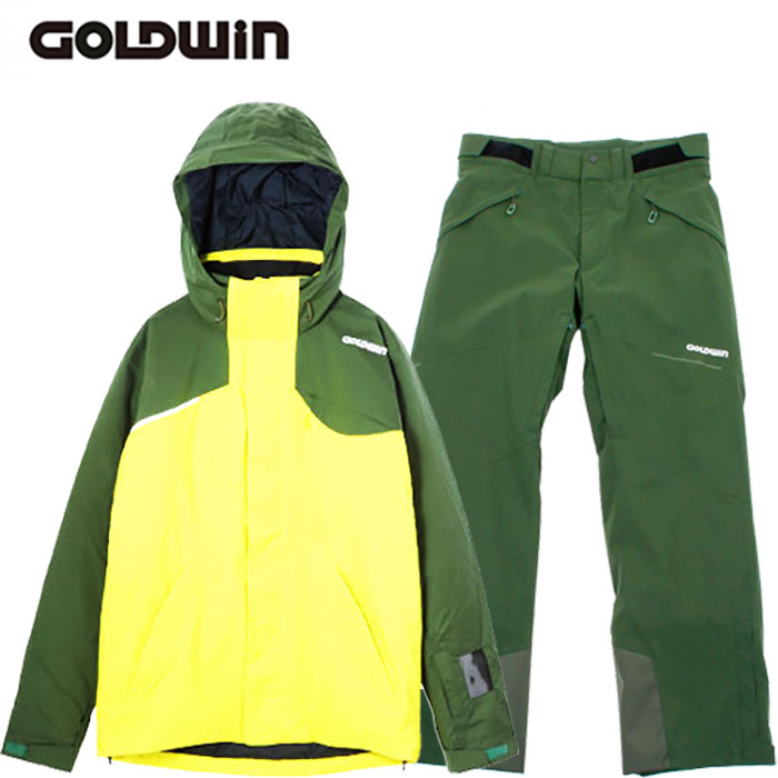 GOLDWIN ゴールドウィン 17-18 スキーウェア REFLECTION JACKET&STREAM PANTS G11720P G31713P 旧モデル (LC):G11720P-G31713P 「0604wear」