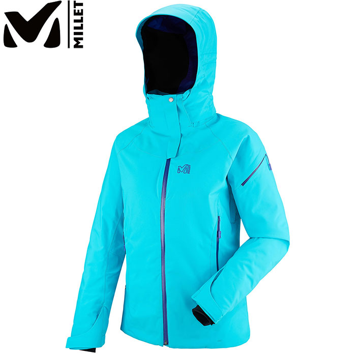 MILLET ミレー LD WHISTLER STRETCH JKT 〔 スキーウェア ジャケット 女性用 レディース 2017/2018FW 特価 〕 (BLUEBIRD-PURPLEBLUE):MIV6981
