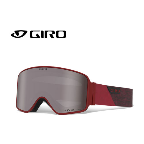 GIRO ジロー 19-20 ゴーグル 2020 METHOD RED PEAK メソッド スキーゴーグル メンズ 平面 Vividレンズ 眼鏡対応:7106054