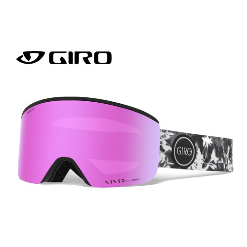 GIRO ジロー 19-20 ゴーグル 2020 ELLA SUN PRINT エラ スキーゴーグル レディース 平面 Vividレンズ 眼鏡対応:7106077