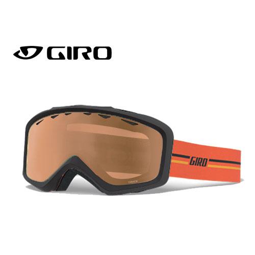 GIRO ジロー 19-20 ゴーグル 2020 GRADE GP ORANGE グレード スキーゴーグル ジュニア 平面 眼鏡対応:7105422