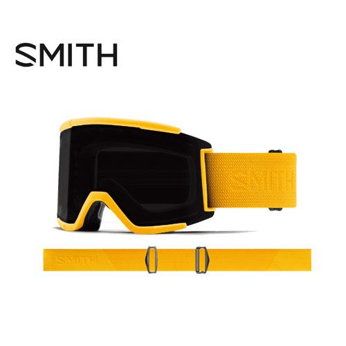 SMITH スミス 19-20 ゴーグル 2020 Squad XL Hornet Flood スカッドエックスエル スキーゴーグル 平面 クロマポップ 全天候対応:010260111