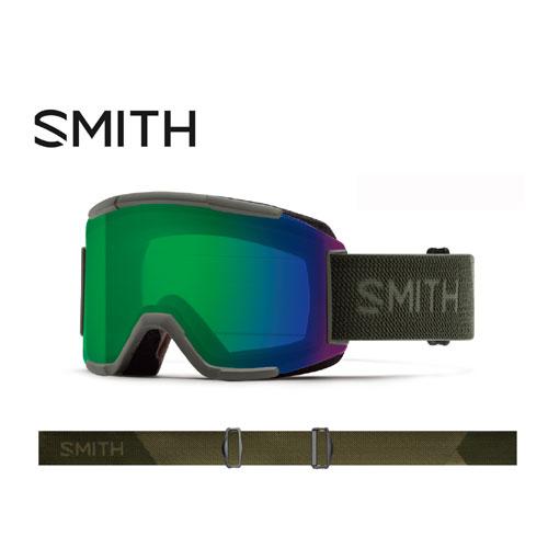 SMITH スミス 19-20 ゴーグル 2020 Squad Sage Flood スカッド スキーゴーグル 平面 クロマポップ 全天候対応:010260122