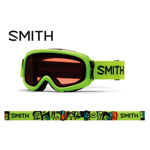クーポン利用で10%OFF!11/5 AMまで!SMITH スミス 19-20 ゴーグル 2020 Gambler Flash Faces ギャンブラー スキーゴーグル 平面 キッズ 眼鏡対応:010260161