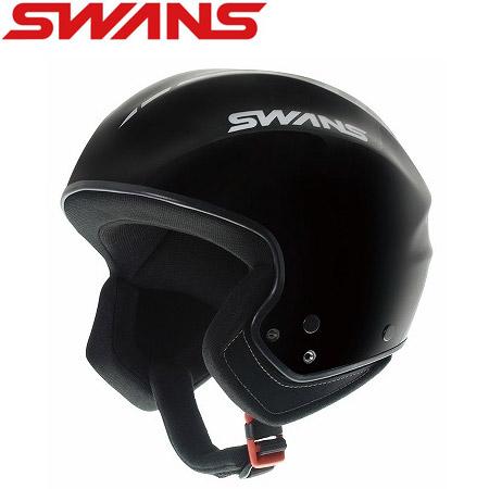 スワンズ SWANS HSR-80FIS ブラック 旧モデル スキー ヘルメット 【FIS対応 レーシングヘルメット】: 「0604hel」