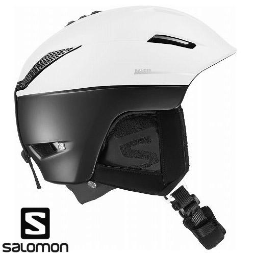 SALOMON サロモン 2019 ヘルメット RANGER2 C.AIR /White Black スキー スノーボード:L391245 「0604hel」