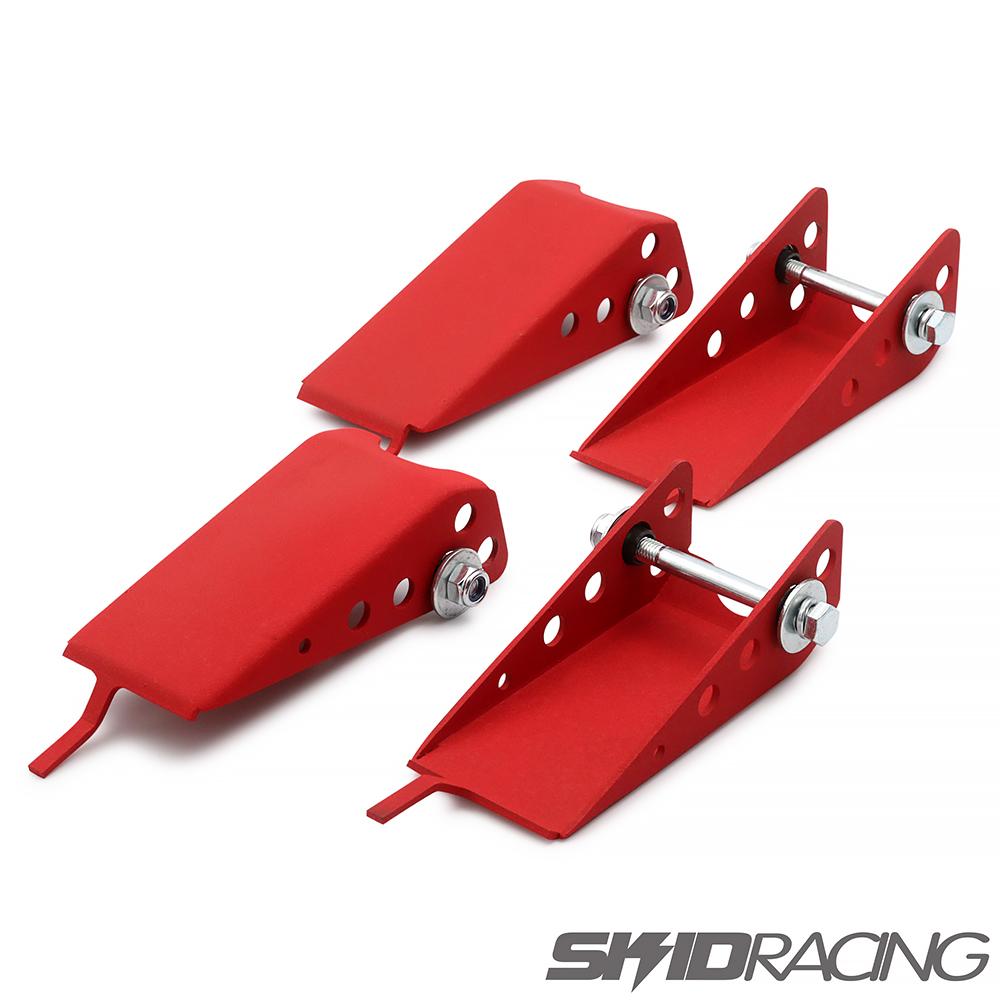 ジムニー JB23 アーム スキッドガード 前後セット フロント リア スキッドレーシング red JB23W JB33W JB43W ジムニーワイド シエラ