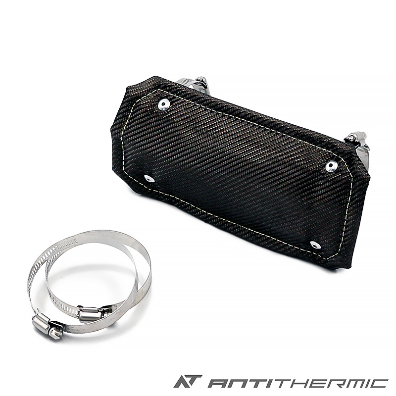 ANTI THERMIC マフラー バンテージ 断熱 10センチ 20センチ 遮熱 パイプ 耐熱 サーモバンテージ タービン バイク シリカ チタニウム アンチサーミック