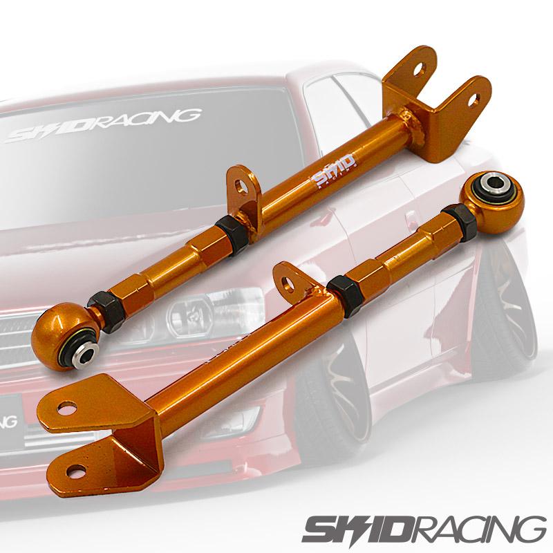 車検OK JZX100 調整式 ピロ オフセット ロアアーム リア スキッドレーシング skid racing