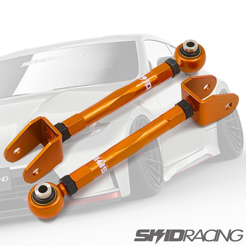車検OK Z34 V36 Y50 キャンバーアーム フェアレディZ スカイライン フーガ 調整式 ピロ リア スキッドレーシング