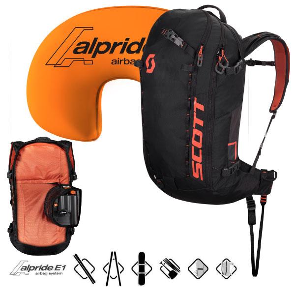 クーポン利用でさらにお買い得!19-20SCOTT スコットPatrol E1 40 BackpackパトロールE1 40バックパック雪崩対策エアバッグ搭載型ザック